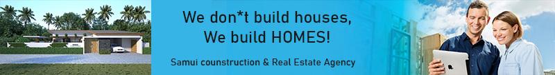 Real estate agency in Koh Samui